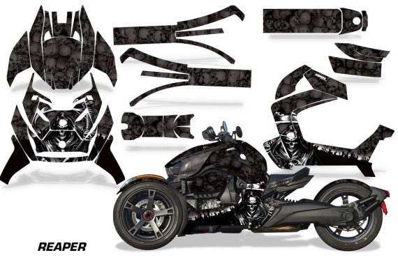 Can Am Ryker 2019 Graphic Kit Vinyl Decal Deco Reaper Black 570x376 - Can-Am Ryker 2019-2021 Graphics