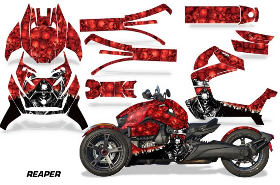Can Am Ryker 2019 Graphic Kit Vinyl Decal Deco Reaper Red 570x376 - Can-Am Ryker 2019-2021 Graphics