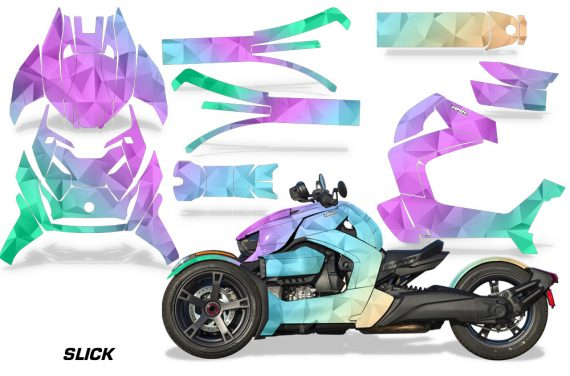 Can Am Ryker 2019 Graphic Kit Vinyl Decal Deco Slick 570x376 - Can-Am Ryker 2019-2021 Graphics
