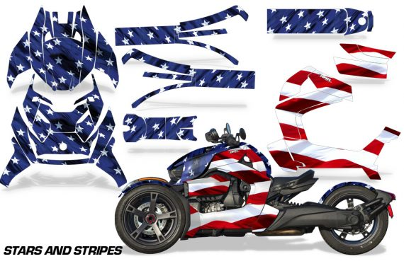 Can Am Ryker 2019 Graphic Kit Vinyl Decal Deco Stars Stripes 570x376 - Can-Am Ryker 2019-2021 Graphics