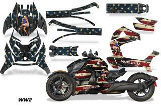 Can Am Ryker 2019 Graphic Kit Vinyl Decal Deco WW2 320x211 - Can-Am Ryker 2019-2021 Graphics