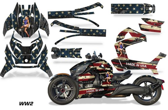 Can Am Ryker 2019 Graphic Kit Vinyl Decal Deco WW2 570x376 - Can-Am Ryker 2019 Graphics