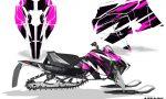 Arctic Cat 2018 ZR 6000R SX Sled Snowmobile Graphics Kit Attack Pink 150x90 - Arctic Cat ZR 6000 R SX 2018+ Graphics