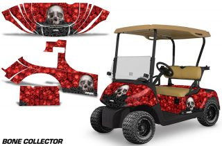 EZGO RXV 2008 Graphics Bone Collector Red 320x211 - EZGO RXV 2008-2015 Golf Cart Graphics
