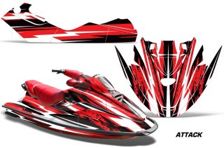 Seadoo-BRP-GTX-Jet-ski-96-99-Wrap-Graphics-Kit-Attack-Red
