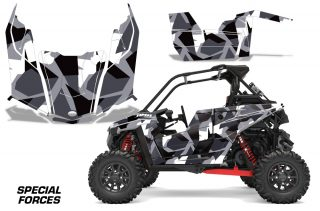 Polaris RZR RS1 2018 Graphic Kit Vinyl Decal Deco Special Forces Silver 320x211 - Polaris RZR RS1 2018+ UTV Graphics