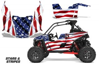 Polaris RZR RS1 2018 Graphics Kit Stars & Stripes