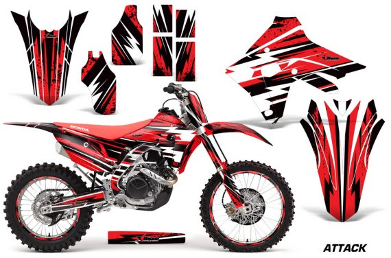 CRF450RX 2017-2018 Graphic Kit Attack