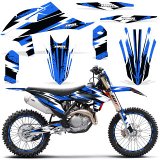 KTM SX SXF ALL MODELS 2019 2020 Graphic Kit Vinyl Decal Deco Attack Blue NP 320x320 - KTM 2019-2020 SX/SXF Graphics