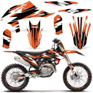 KTM SX SXF ALL MODELS 2019 2020 Graphic Kit Vinyl Decal Deco Attack Orange NP 320x320 - KTM 2019-2020 SX/SXF Graphics