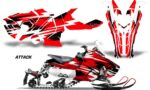 Polaris Axys Graphic Kit Graphics Decal Wrap Attack Red 150x90 - Polaris Axys Rush Pro S/Switchback Adventure 2015+ Graphics