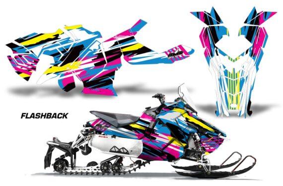 Polaris Axys Graphic Kit Graphics Decal Wrap Flashback 570x376 - Polaris Axys Rush Pro S/Switchback Adventure 2015+ Graphics