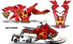 Polaris Axys Graphic Kit Graphics Decal Wrap Meltdown Yellow RedBG 150x90 - Polaris Axys Rush Pro S/Switchback Adventure 2015+ Graphics