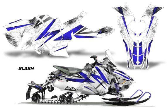 Polaris Axys Graphic Kit Graphics Decal Wrap Slash Blue WhiteBG 570x376 - Polaris Axys Rush Pro S/Switchback Adventure 2015+ Graphics