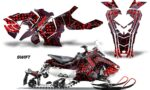 Polaris Axys Graphic Kit Graphics Decal Wrap Swift Red 150x90 - Polaris Axys Rush Pro S/Switchback Adventure 2015+ Graphics