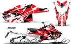 Polaris Axys SKS RMK Graphic Kit Graphics Decal Wrap Attack R 150x90 - Polaris Axys Pro RMK SKS 2015-2020 Graphics