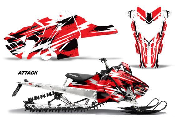 Polaris Axys SKS RMK Graphic Kit Graphics Decal Wrap Attack R 570x376 - Polaris Axys Pro RMK SKS 2015-2020 Graphics