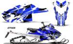 Polaris Axys SKS RMK Graphic Kit Graphics Decal Wrap Attack U 150x90 - Polaris Axys Pro RMK SKS 2015-2020 Graphics