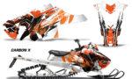 Polaris Axys SKS RMK Graphic Kit Graphics Decal Wrap Carbon X O 150x90 - Polaris Axys Pro RMK SKS 2015-2020 Graphics