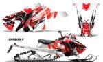 Polaris Axys SKS RMK Graphic Kit Graphics Decal Wrap Carbon X R 150x90 - Polaris Axys Pro RMK SKS 2015-2020 Graphics