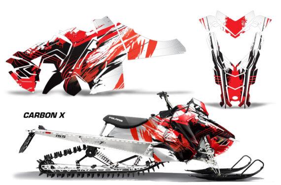 Polaris Axys SKS RMK Graphic Kit Graphics Decal Wrap Carbon X R 570x376 - Polaris Axys Pro RMK SKS 2015-2020 Graphics