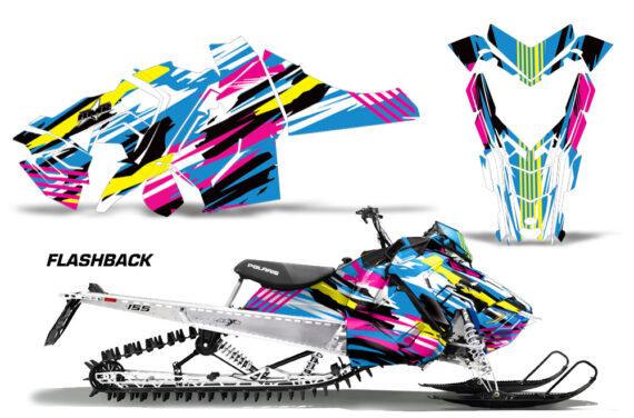 Polaris-Axys-SKS-RMK-Graphic-Kit-Graphics-Decal-Wrap-Flashback