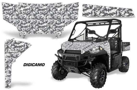 Polaris Range 13 15 Graphic Kit Wrap Digicamo White 570x376 - Polaris Ranger Diesel/Diesel HST/Crew Diesel/Crew 900/900XP 2013-2019 UTV Graphics