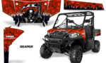 Polaris Range 13 15 Graphic Kit Wrap Reaper Red 150x90 - Polaris Ranger Diesel/Diesel HST/Crew Diesel/Crew 900/900XP 2013-2019 UTV Graphics
