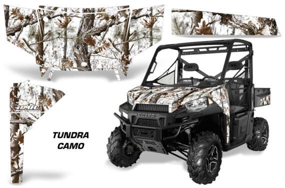 Polaris Range 13 15 Graphic Kit Wrap Tundra Snow Camo 570x376 - Polaris Ranger Diesel/Diesel HST/Crew Diesel/Crew 900/900XP 2013-2019 UTV Graphics
