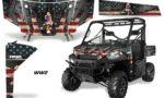 Polaris Range 13 15 Graphic Kit Wrap WW2 150x90 - Polaris Ranger Diesel/Diesel HST/Crew Diesel/Crew 900/900XP 2013-2019 UTV Graphics