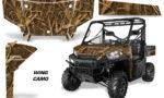 Polaris Range 13 15 Graphic Kit Wrap Wing Duck Camo 150x90 - Polaris Ranger Diesel/Diesel HST/Crew Diesel/Crew 900/900XP 2013-2019 UTV Graphics