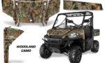 Polaris Range 13 15 Graphic Kit Wrap Woodland Tree Camo 150x90 - Polaris Ranger Diesel/Diesel HST/Crew Diesel/Crew 900/900XP 2013-2019 UTV Graphics