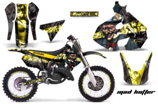 Suzuki-RM-125-99-00-Graphics-Kit-Mad-Hatter-YB-NPs