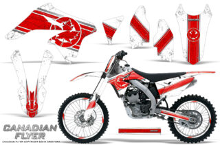 Suzuki RMZ250 10 14 CreatorX Graphics Kit Canadian Flyer Red White NP Rims 320x211 - Suzuki RMZ 250 2010-2016 Graphics