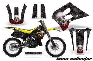 Suzuki RM 125 250 93 95 NP Graphic Kit BoneCollector Black NPs 320x211 - Suzuki RM 125 RM 250 1993-1995 Graphics