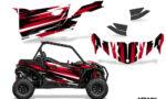 Can Am Maverick 2DR Sport DPS 2019 Graphic Kit Vinyl Decal Deco Attack Red 150x90 - Honda Talon 1000X 2019 2 Door UTV Graphics